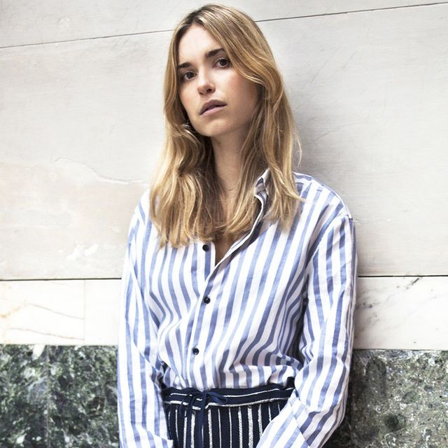 Pernille Teisbaek Makes a Chic Case for Stripes on Stripes