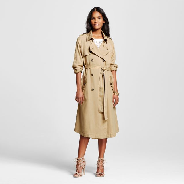 Who What Wear Lightweight Trench