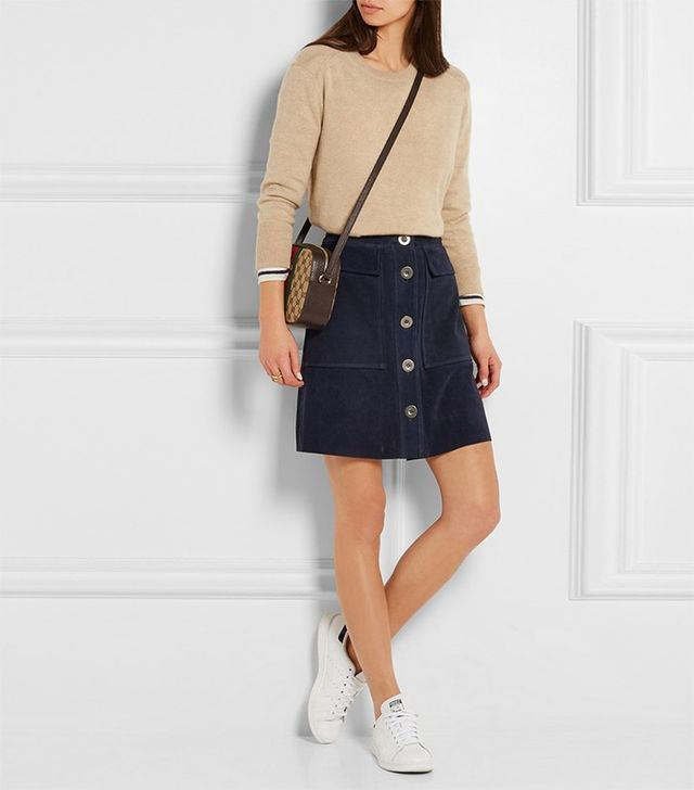 M.i.h Jeans Damas Suede Mini Skirt