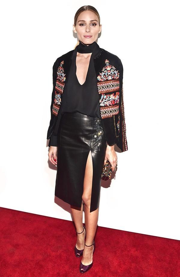 On Palermo:Zara jacket; Dior skirt.