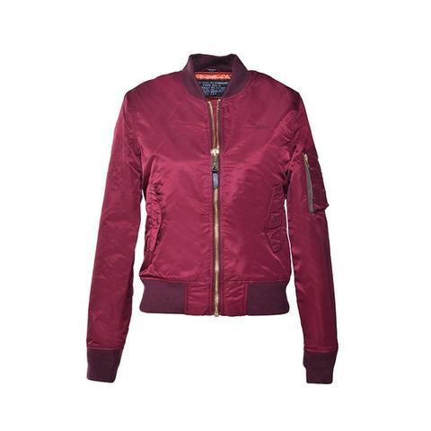 Women's Nylon Flight Jacket