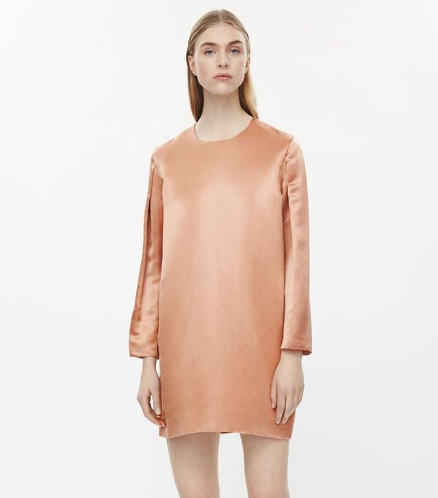 COS Short Silk Dress