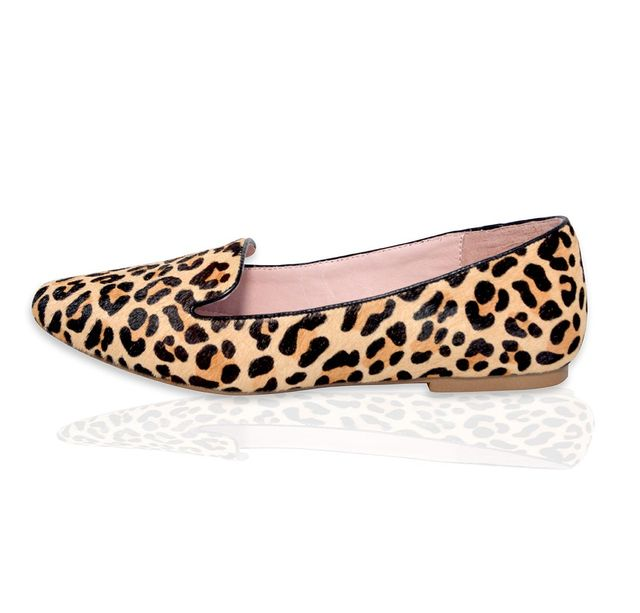 Maumero Jasper Leopard Calf Hair Shoes