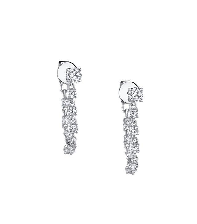 Anita Ko Diamond Loop Earrings
