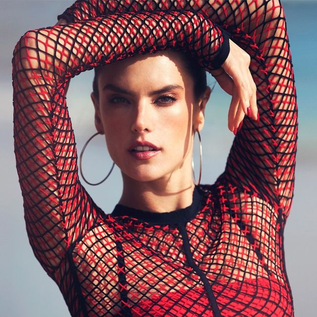 The Reason Alessandra Ambrosio Is Thinking Twice About Lingerie Shoots