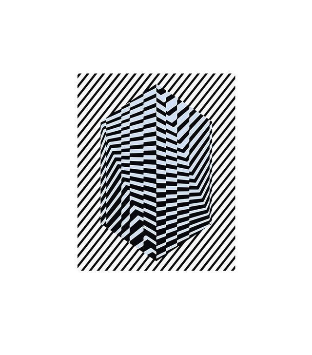 "Kris Tamburello ""Overlapped: Striped Cube"""