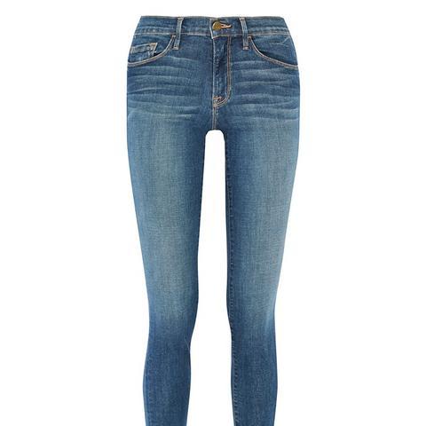 Forever Karlie Mid-Rise Skinny Jeans