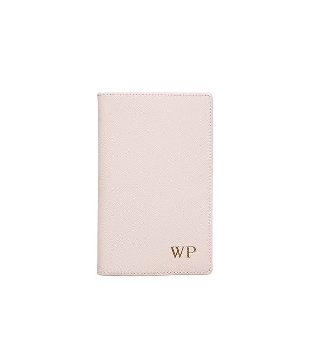 The Daily Edited Pale Pink Leather Notebook Holder