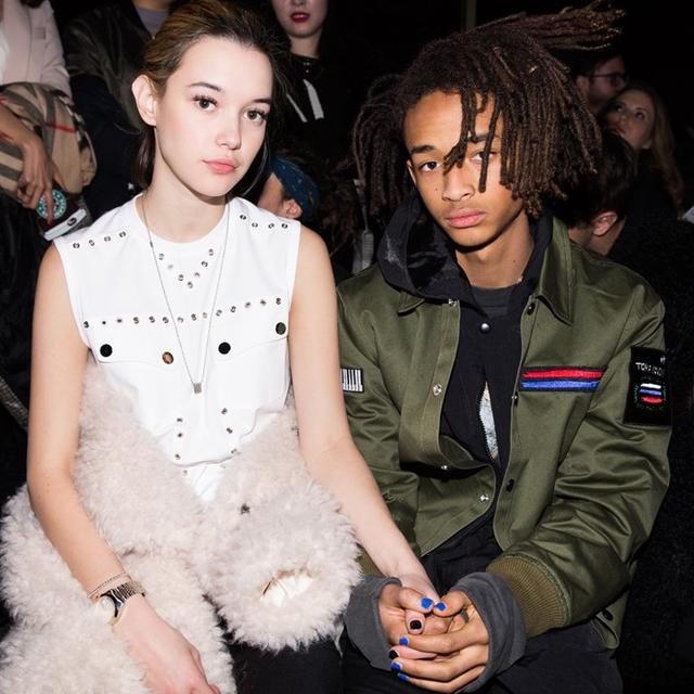 Jaden Smith's Girlfriend Is the Latest Calvin Klein Lingerie Model