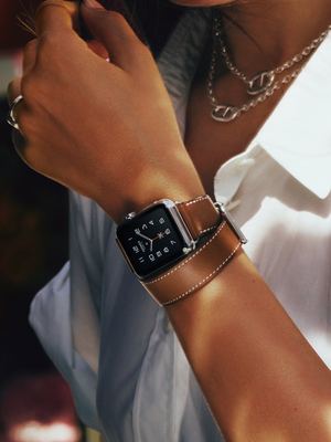 See the New Apple Watch Bands Designed by Hermès