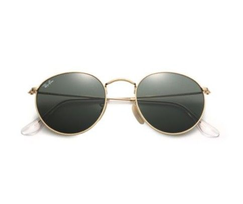 Ray-Ban 50MM Round Metal Sunglasses