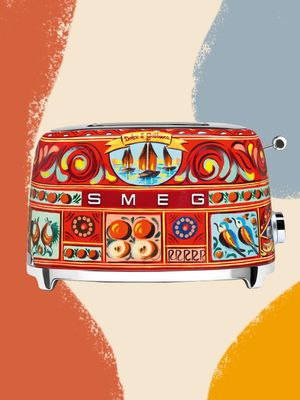 Smeg Just Released a $600 Dolce & Gabbana Toaster