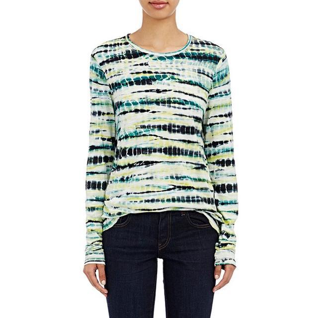 Proenza Schouler Lightweight Slub Jersey Long-Sleeve T-Shirt