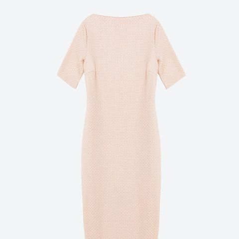 V-Back Sheath Dress