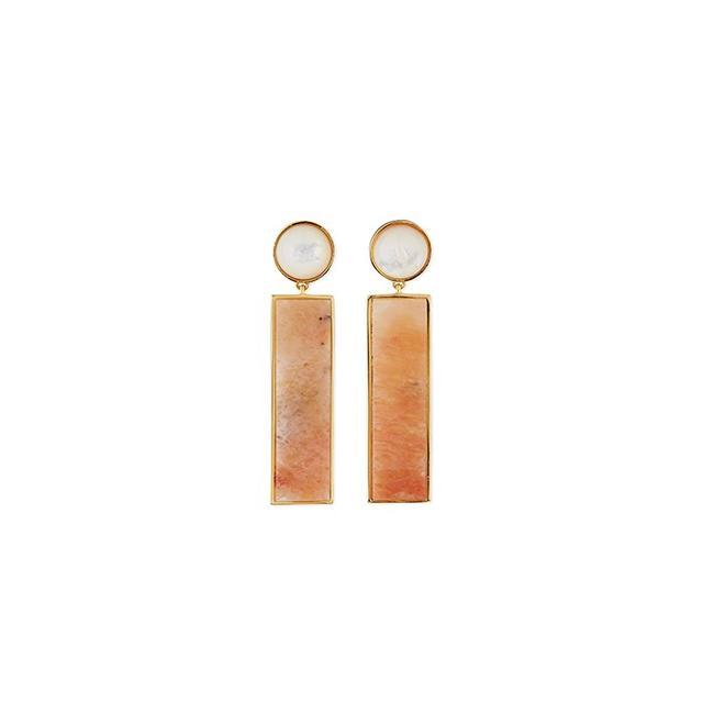 Lizzie Fortunato Regal Column Earrings