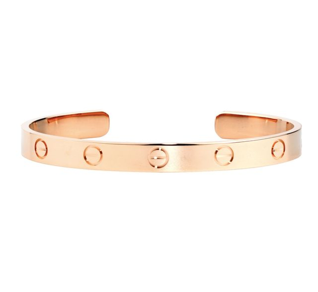 Cartier Love Bracelet in Pink Gold