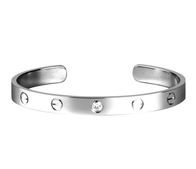 Cartier Love Bracelet in White Gold With Diamond