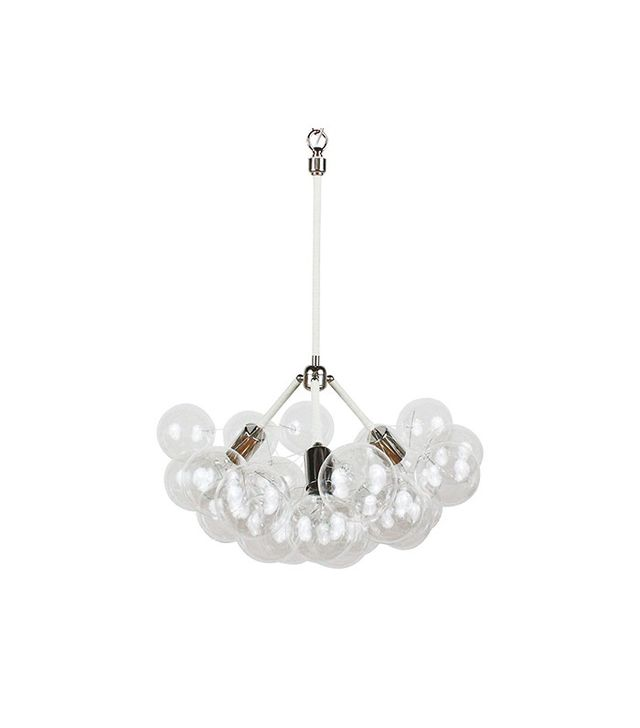 The Light Factory Three Branch Bubble Chandelier