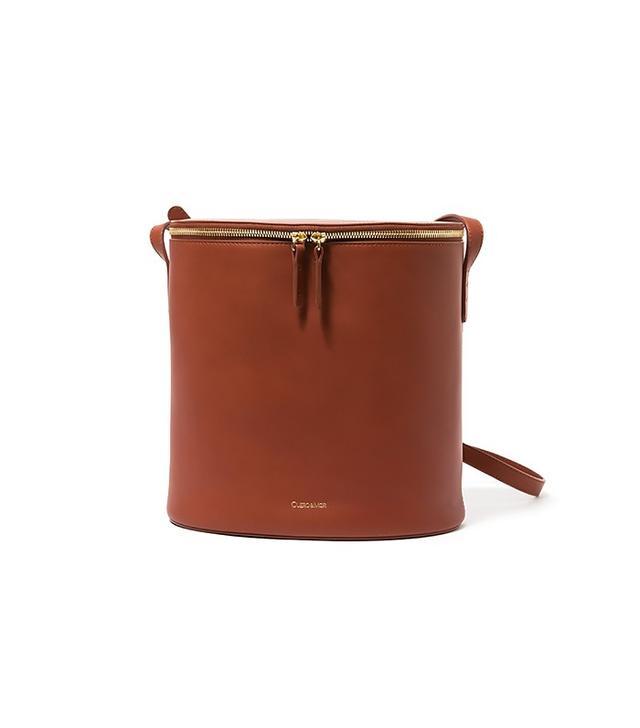 Cuero&Mør Bucket Bag in Cognac