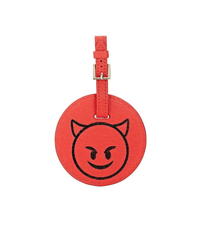 Barneys New York Devil-Face Luggage Tag