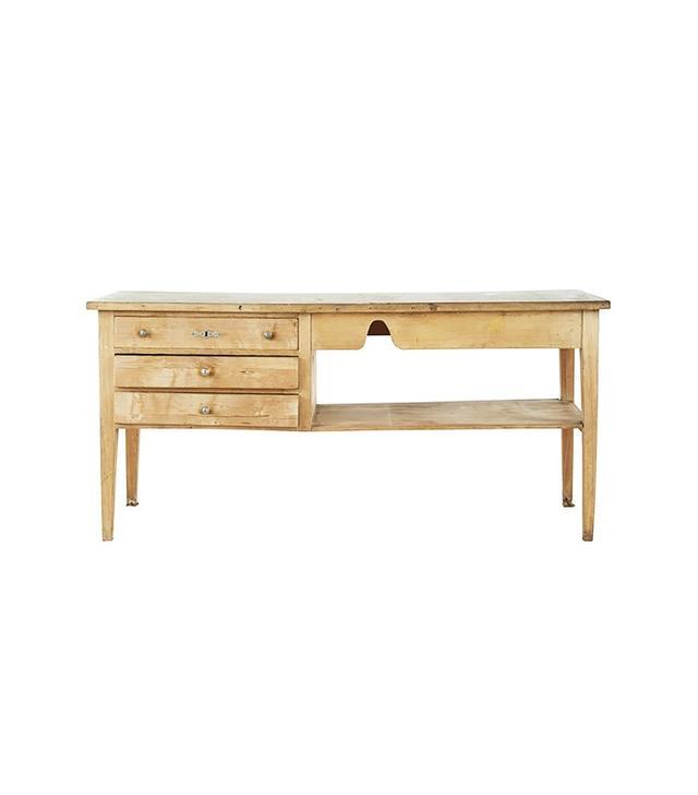 Jayson Home Vintage Oak Work Table