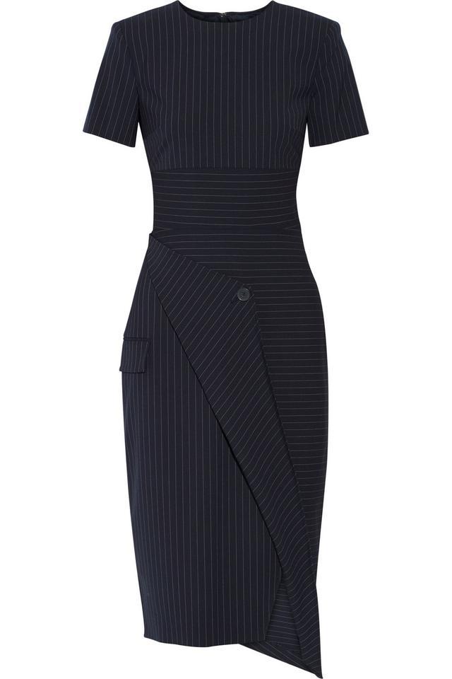 DKNY Pinstriped Dress