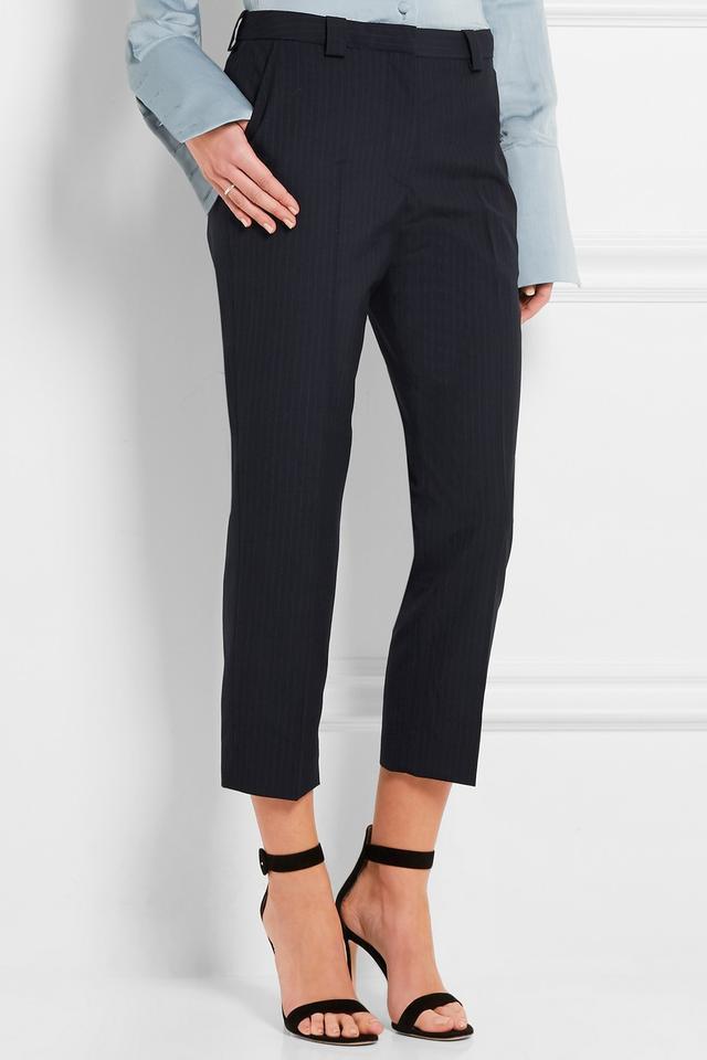 Topshop Unique Jermyn Pinstripe Pants