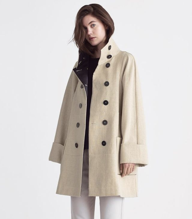 A-Line by Jigsaw Clemantine Panel Pea Coat