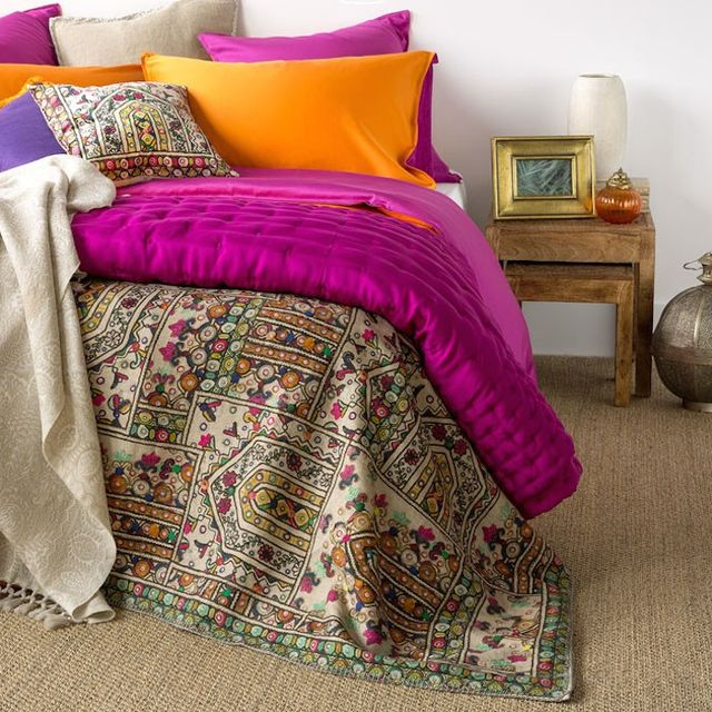 Zara Home Digital Print Bedspread