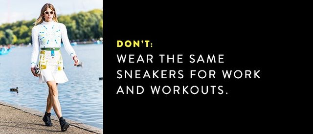 We love a great sweat session, but the shoes we wear to the gym don't pull double duty.