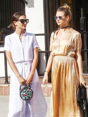 Lily Aldridge and Behati Prinsloo Prove Fashion Twinning Is Still Going Strong