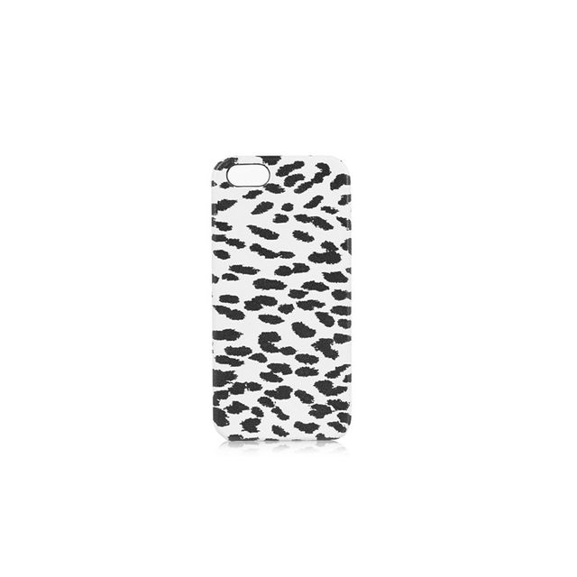 Saint Lauren Printed leather iPhone 5 case