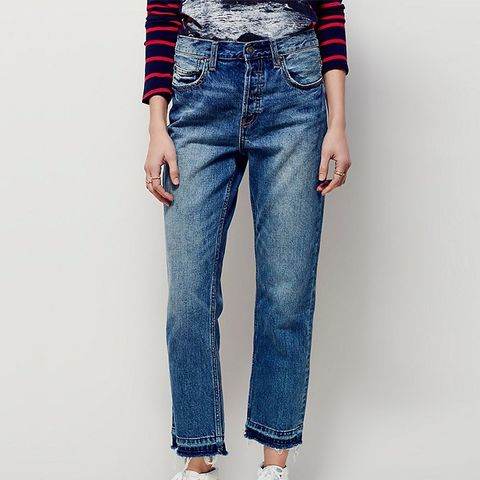 Borough Released Hem Jeans