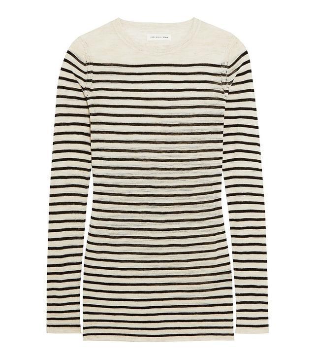 Isabel Marant Étoile Deward Striped Knitted Sweater