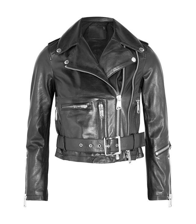 R13 Cropped Biker Jacket
