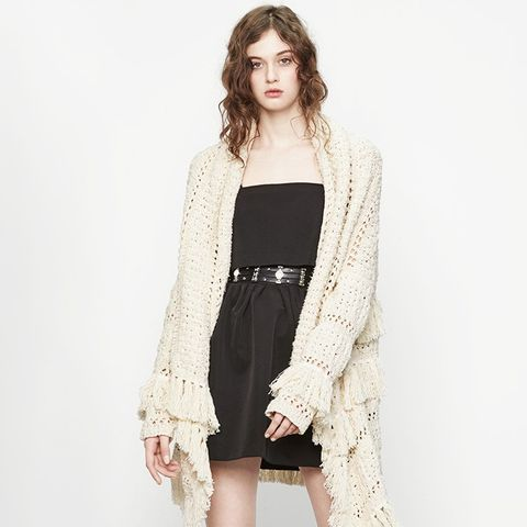 Decorative Knit Cardigan