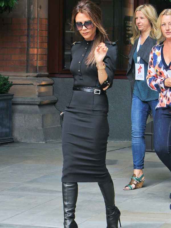 Victoria Beckham in Victoria Beckham at the Viva Forever Press Launch in London, June 2012