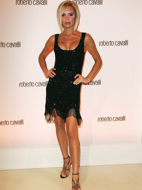 Victoria Beckham at the Roberto Cavalli store opening, October 2007