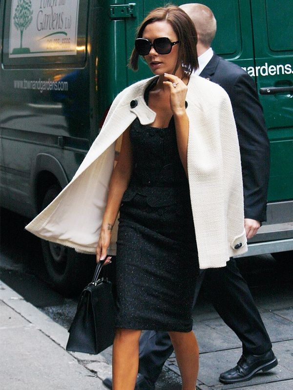 Victoria Beckham in New York, February 2008