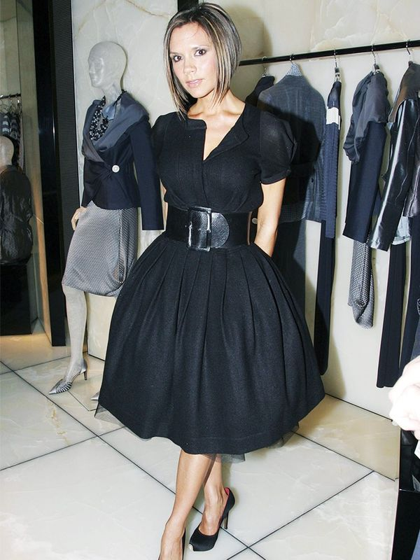 Victoria Beckham at a Giorgio Armani store opening, January 2007