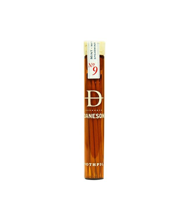 Daneson Mint Nº9 Natural Toothpicks Set of Four Bottles
