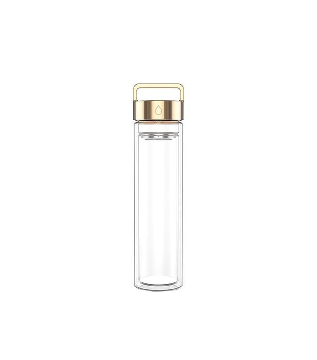 Drop Bottle Rose Gold Water Bottle