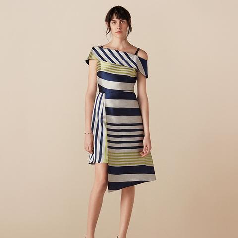 Sackville Stripe Cut About Dress