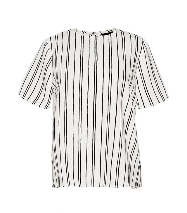 Who What Wear Woven T-Shirt