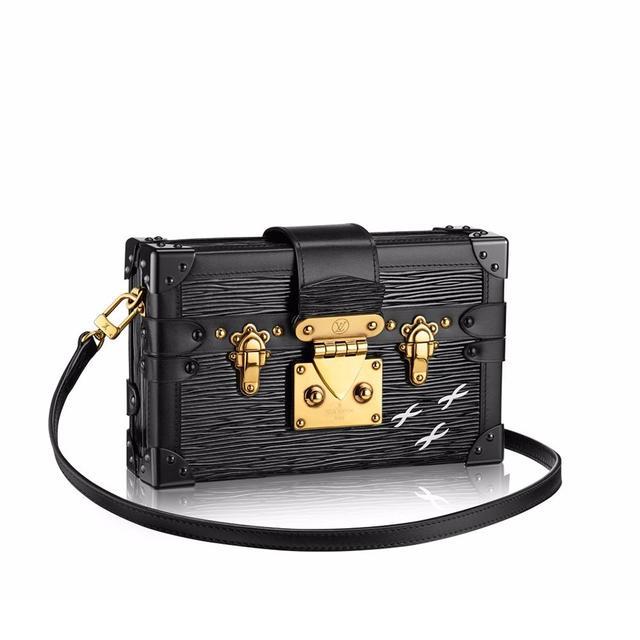 Louis Vuitton Petite Malle Epi in Noir