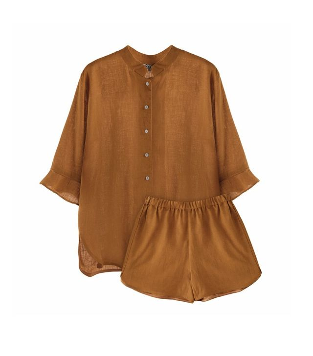 Sleeper Dijon Orange Loungewear Suit