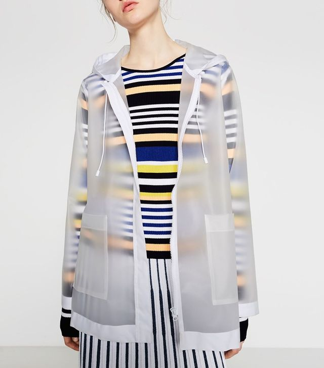 Zara Transparent Raincoat