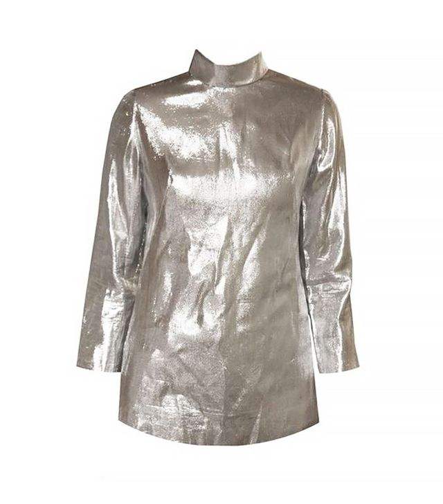 Vintage 70s Metallic Turtleneck