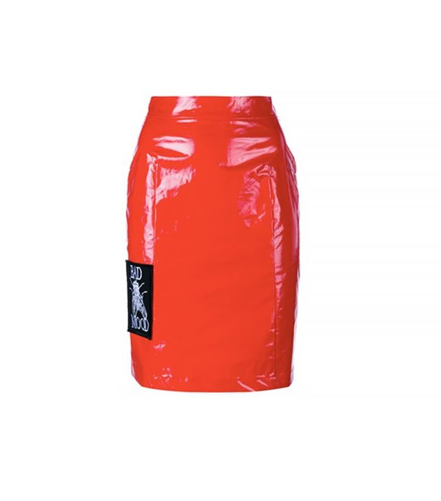 Ashley Williams Bad Mood Patent Skirt