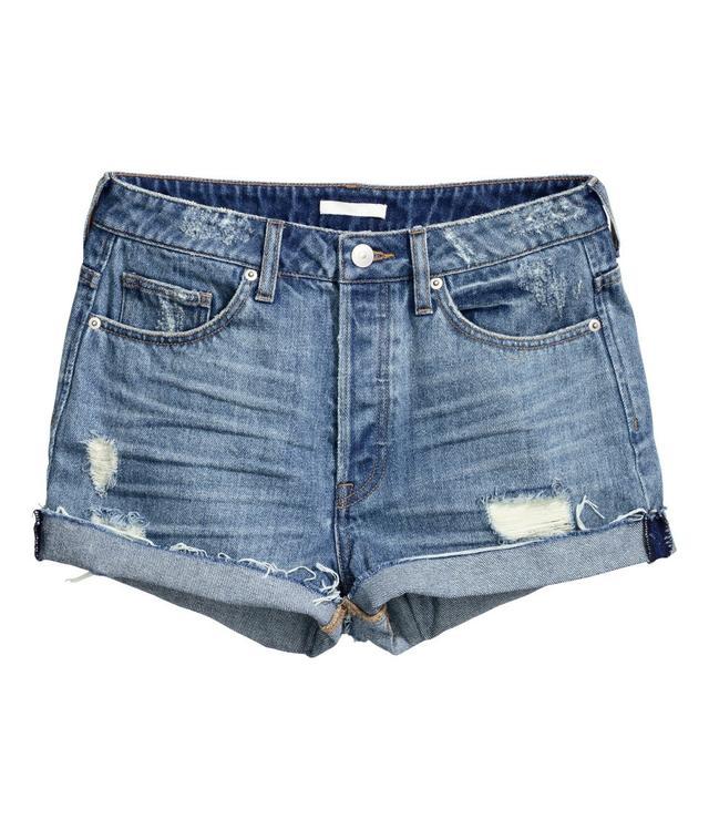 H&M Denim Shorts Trashed